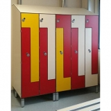 Lockers L/TI door variant for gyms, swimmings pools and wellness areas