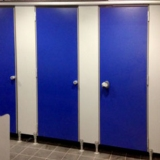 Modular walls ALGE series for locker-rooms