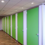 Modular walls ALGF series for locker-rooms