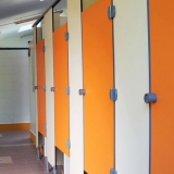 Modular walls GF/S series for locker-rooms