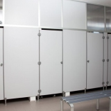 Modular walls GD/S series for locker-rooms