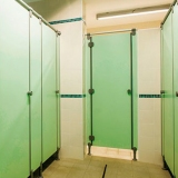 Modular walls G/S series for locker-rooms