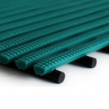 Flooring mat for locker rooms and swimming pools STOP