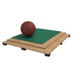Flooring parquet for basketball halls PVC, FIBA Approved