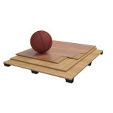 Flooring parquet for basketball halls PRO, FIBA Approved