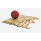 Flooring parquet for basketball halls SPLUGA, FIBA Approved