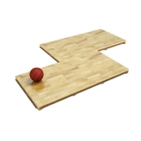 Portable sports floor series 1008 - FIBA certified