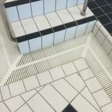 OP grating corner for swimming pools