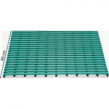 Flooring mat for locker rooms and swimming pools Duckboard PVC
