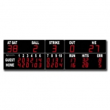 Scoreboard for baseball outdoor range FBF