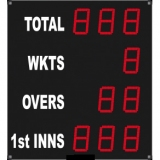 Scoreboard for cricket outdoor range FCB 10