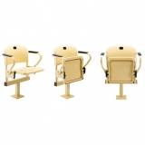 Stadium seats M2007 Single stand - certificated by FIBA, UEFA /FIFA