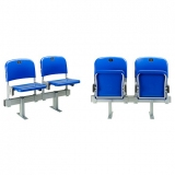 Stadium seats M2007 on melallic beam - certificated by FIBA, UEFA /FIFA