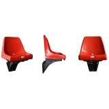 Stadium seats M2008 polyamide console - UEFA recommendations and FIBA approved