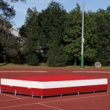 High jump school landing area W-4255