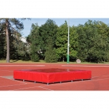 High jump waterproof cover for landing area P-435
