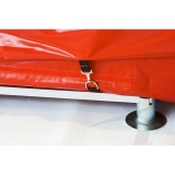 High jump waterproof cover for landing area P-636