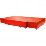 High jump waterproof cover for landing area P-647