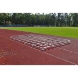 High jump modular grid platform for landing area SW-5x3