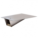 Pole vault box stainless steel lid flush mount PVLID-S