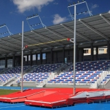 Pole vault competition stand professional STT15-65 - IAAF approved