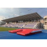 Pole vault competition landing area T-8568 - IAAF approved