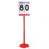 Pole vault stand position board T2-S410
