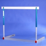 Competition one-piece frame aluminium hurdle S-018-P