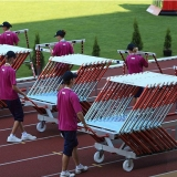 Competition hurdle cart for athletics track events HC-23