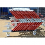 Competition hurdle cart for athletics track events HC-34