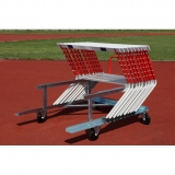 Training hurdle cart for athletics track events S-259