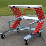 Competition one lane hurdle cart S15-464