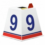 Competition lane marker for athletics track events LM-45