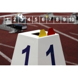 Competition lane markers set for athletics track events LM-45/10
