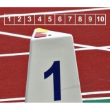 Competition lane markers set for athletics track events LM-60/10