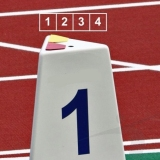 Competition lane markers set for athletics track events LM-60/4