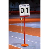 Competition lap counter with bell for athletics track events T2-S246