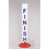 Competition finish line posts for athletics track events SLM-S0450