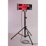 Competition wind velocity led display for athletics events T3-WS