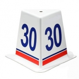 Competition distance marker set for throwing athletic events DMS-35/16