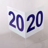 Competition distance marker set for throwing athletic events DM14/12-S0463