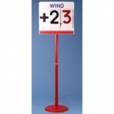 Wind speed display board for athletic events T3-S275