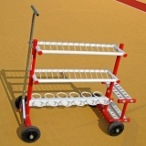 Athletics inventory combo rack CR-3d-W