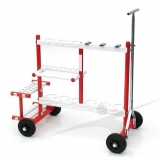 Athletics inventory combo rack CR-4-W