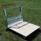 Athletics inventory cart for modular grid platform WSZG-30