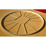 Discus throwing athletics circle DC-250 - IAAF approved