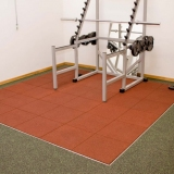 Flooring for Gyms and Weightlifting halls Elastic Plates