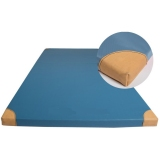 Mats for Schools Gym Exercises (with zipper) with leather corners