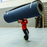 Mats for Schools Gym Floor Exercises