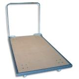 Mat trolley for transporting gym mats standard